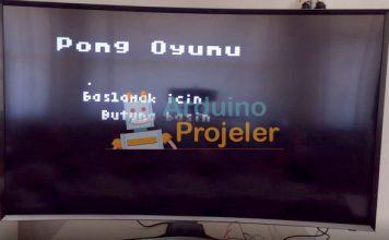 Arduino Pong Atari Oyunu