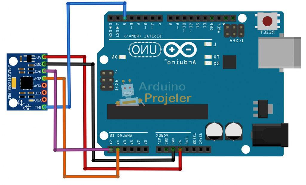 Arduino Pusula Bağlantısı