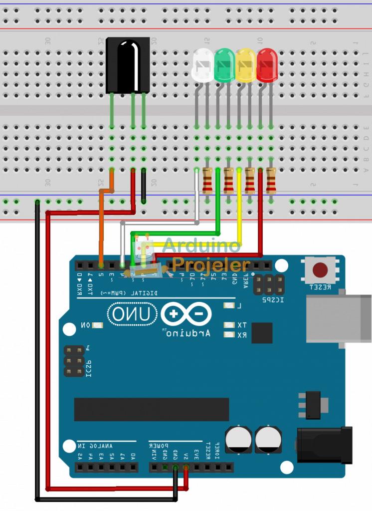 Arduino Uzaktan Kumanda