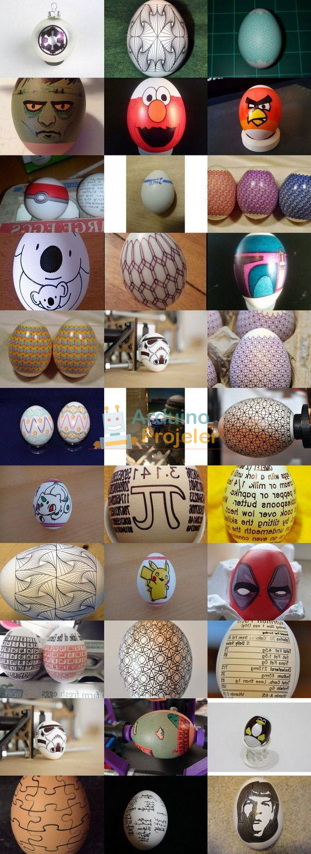 Arduino Yumurta Boyacı