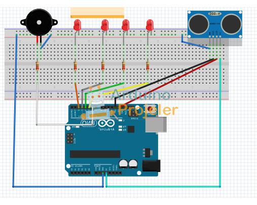 Arduino Park Sensör