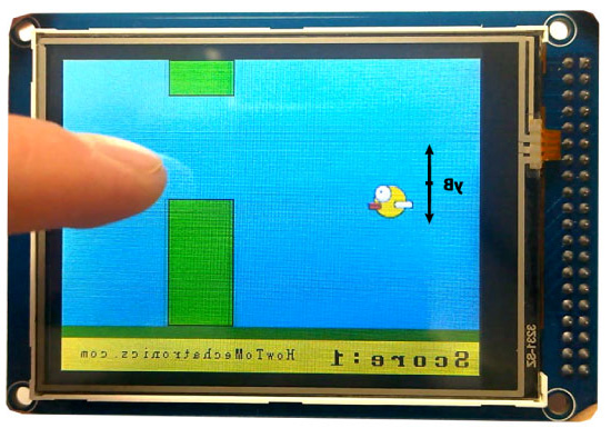 Arduino İle Flappy Bird Oyunu