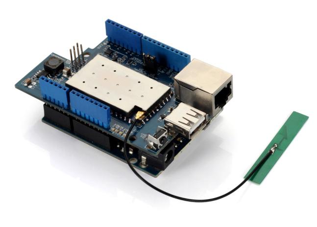 Arduino'ya Linux, Wi-fi, Ethernet ve Usb Eklemek