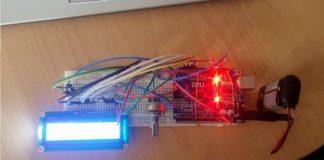 Arduino LM35 İle Analog Göstergeli Termometre