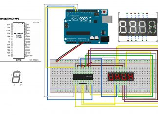 4 Haneli 7 Segment Led Display