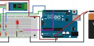 Arduino Bluetooth İle Led Yakma