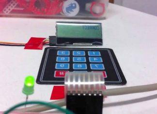 Arduino Tuş Takımlı Güvenlik Paneli