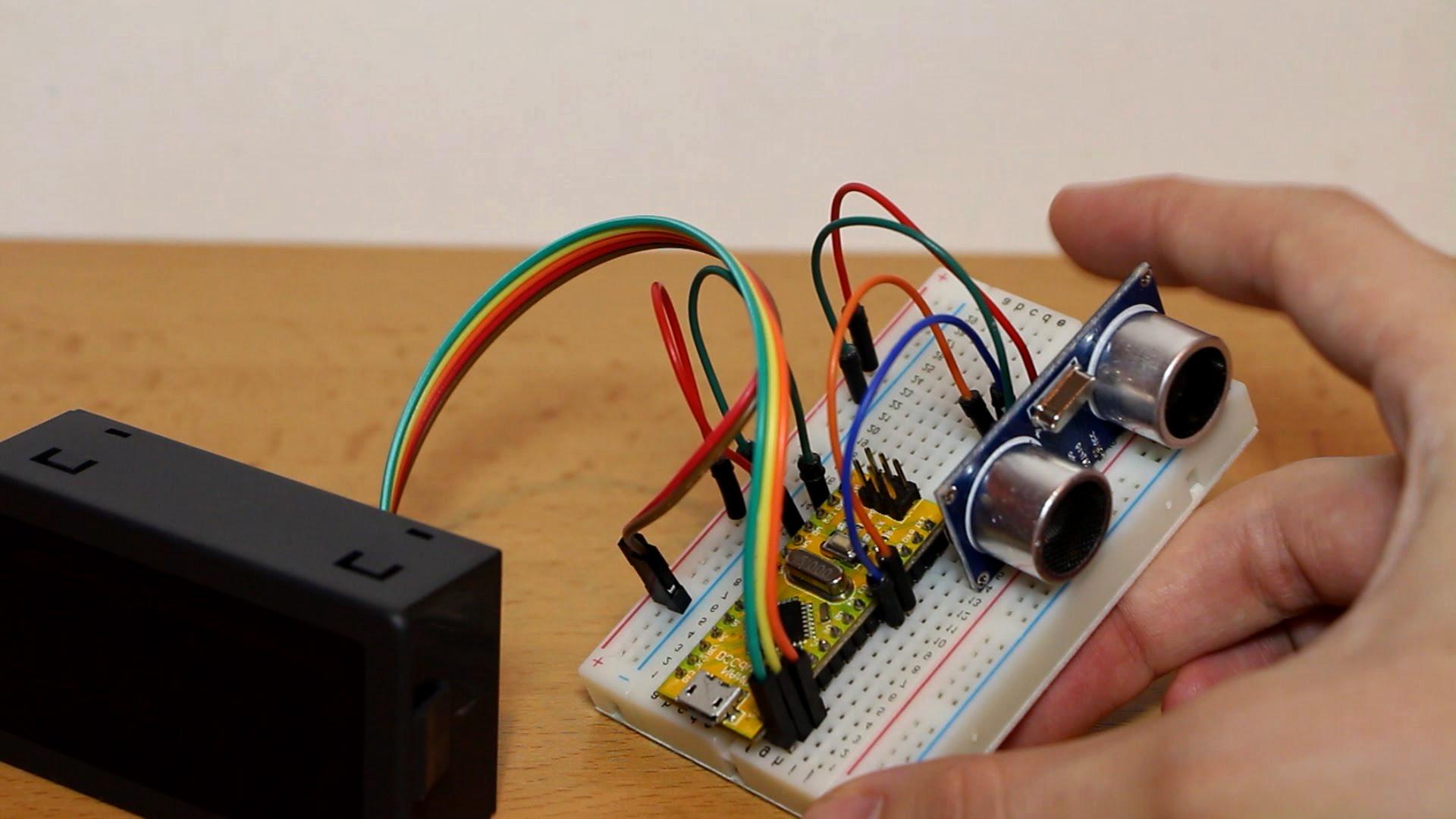 Arduino İle HC-SR04 İle Mesafe Ölçme